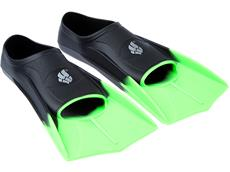 Mad Wave Training Fins Schwimmflossen black/green