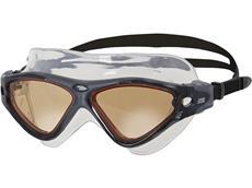 Zoggs Tri Vision Mask Schwimmbrille black-black/cv