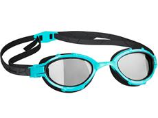 Mad Wave Triathlon Photochromic Schwimmbrille azure-black