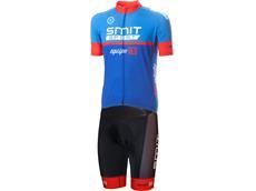 equipeRED Proline Trägerhose red + Trikot blue - Set 3