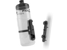 Fidlock Twist Bottle Flaschenhalter inkl. 600 ml Flasche transparent clear