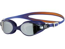 Speedo Virtue Mirror Women Schwimmbrille fluo orange-ultramarine/silver