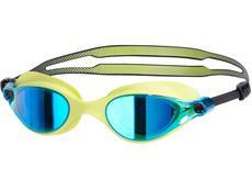Speedo Vue Mirror Schwimmbrille green/blue