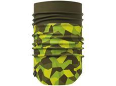 Buff Windproof Neckwarmer Schlauchtuch - block camo green