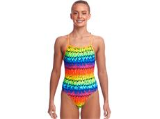 Funkita Wing It Girls Badeanzug Strapped In