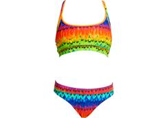 Funkita Wing It Ladies Schwimmbikini Sports Top + Sports Brief