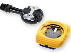 Speedplay Zero Edelstahl Pedal inkl. Walkable Cleats