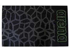 Arena Carbonite Microfaser Handtuch black/leaf 150x100 cm