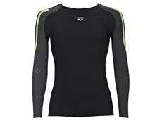 Arena Carbon Compression Men Long Sleeve - XL black/deep grey