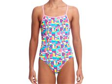 Funkita Patched Up Girls Badeanzug Strapped In
