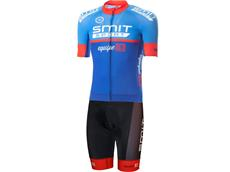 equipeRED Proline Trägerhose red + Proline Trikot blue - Set 1