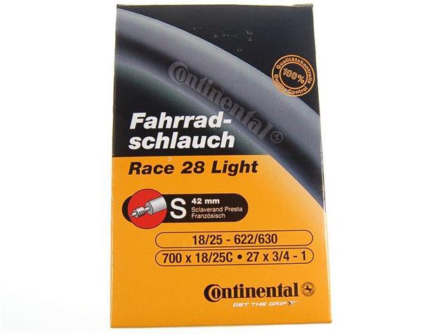 Continental Race 28 Light 18/25-622/630 SV 42 mm Schlauch
