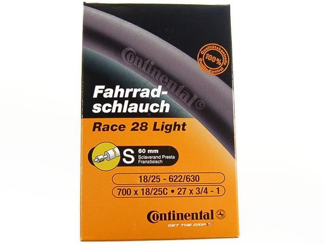 Continental Race 28 Light 18/25-622/630 SV 60 mm Schlauch