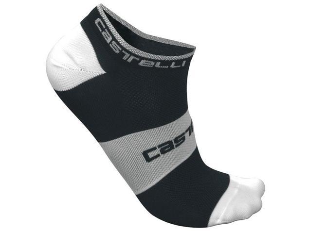 Castelli Lowboy Socken - XXL black/white