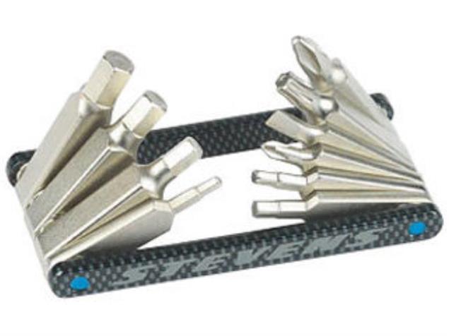 Stevens Carbon-10 Multitool Miniwerkzeug