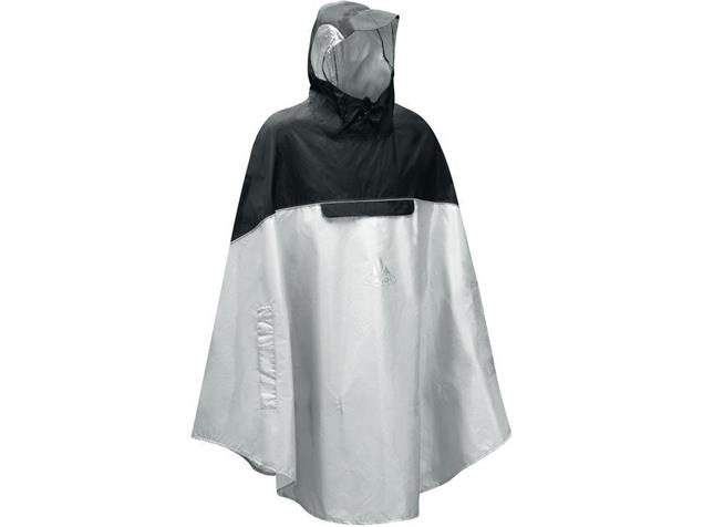 Vaude Covero II Poncho - M light grey