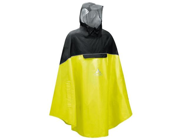 Vaude Covero II Poncho - XL lemon