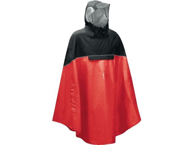 Vaude Covero II Poncho - S red