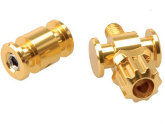 TRP Kabelversteller Set Cyclocrossbremse - gold