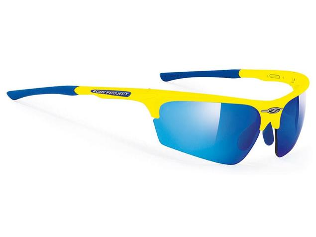 Rudy Project Noyz Brille yellow fluo/multilaser blue