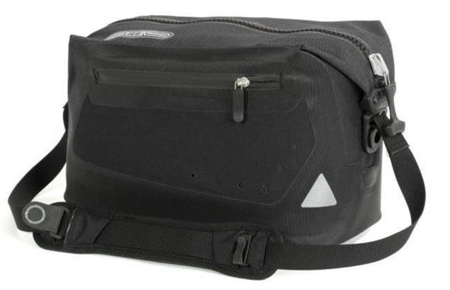 Ortlieb Trunk-Bag Gepäckträgertasche mit Ortlieb Adapter - rot/schwarz