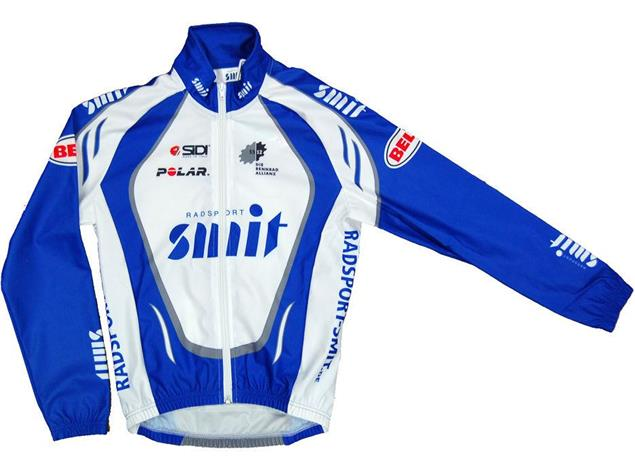 Radsport Smit Windjacke Kids - 164 blau/weiss