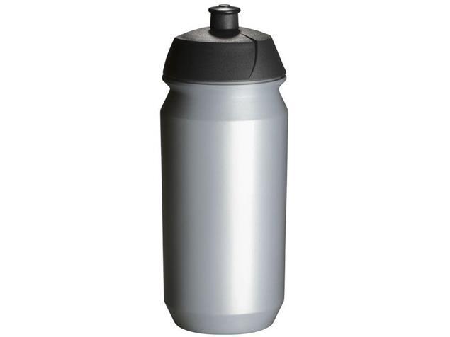 Tacx Shiva Trinkflasche 0,5 Liter - silber