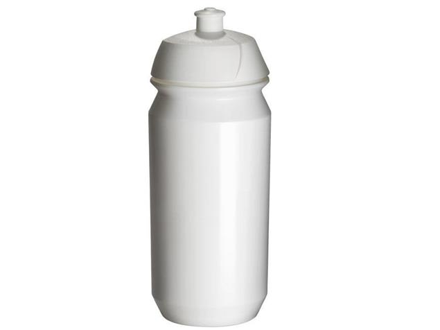 Tacx Shiva Trinkflasche 0,5 Liter - weiss