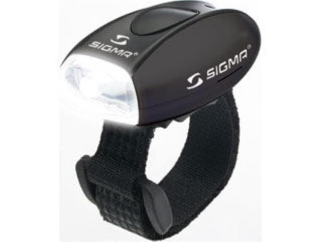 Sigma Micro LED Sicherheitsleuchte weiße LEDs - schwarz