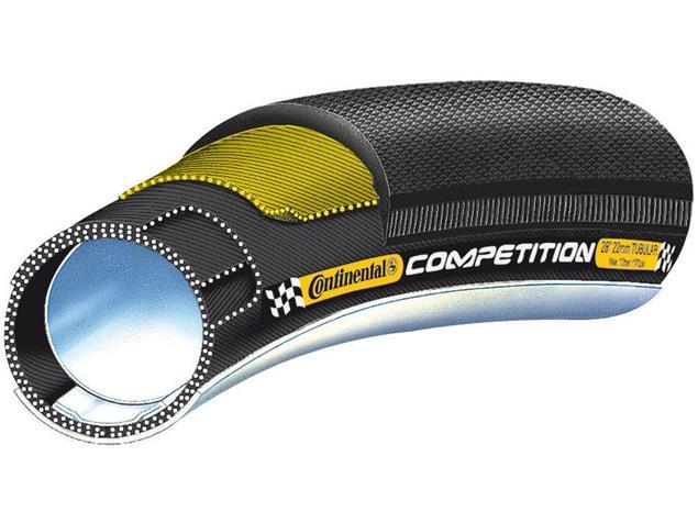 """Continental Competition 28"""" x 22 mm Schlauchreifen schwarz"""