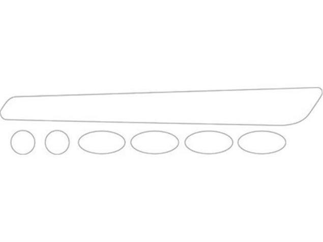 BBB Rahmenschutzsticker BikeSkin BBP-50 transparent