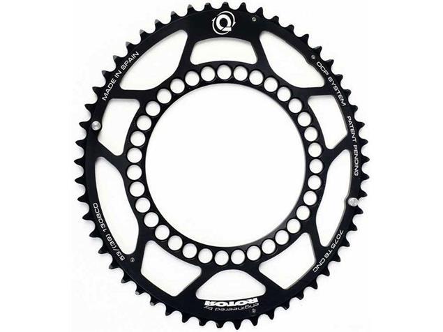 Rotor Q-Ring Kettenblatt schwarz 130er Lochkreis - 50 Zähne