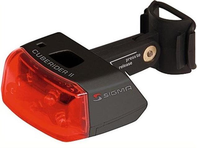 Sigma Cuberider II LED Rücklicht schwarz