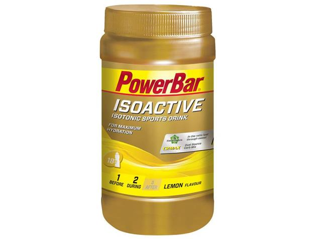 PowerBar Isoactive Sports Drink 600 g - lemon