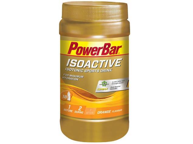 PowerBar Isoactive Sports Drink 600 g - orange