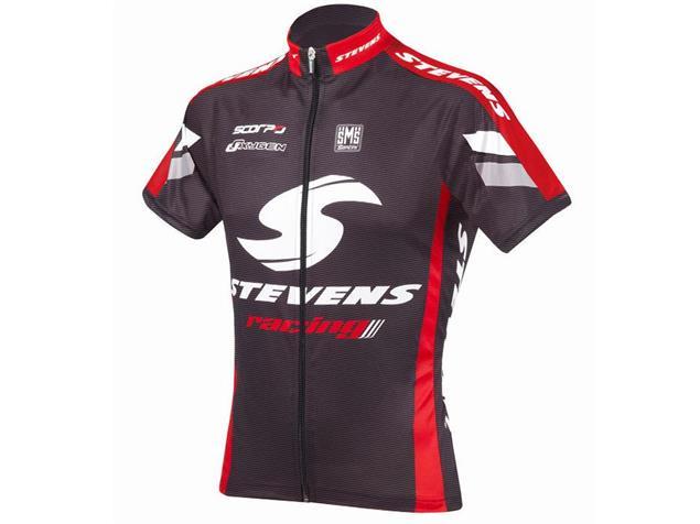 Stevens Carbon Racing Red Trikot Kurzarm - XXL carbon/rot