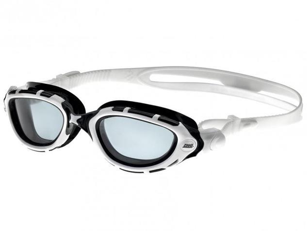 Zoggs Predator Flex Schwimmbrille white-black-white/smoke tinted