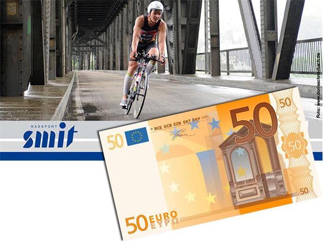 Beispiel Wertguschein - 50 Euro - Motiv 1