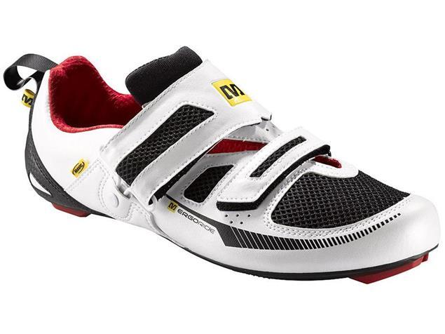 Mavic Tri Race Triathlon Schuh - 43 1/3 white/black