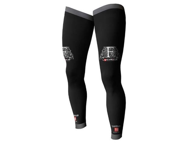 Compressport F-Like Full Leg Beinling - T4 black
