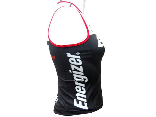 equipeRED Energizer Damen TRI Singlet - Black Edition - L