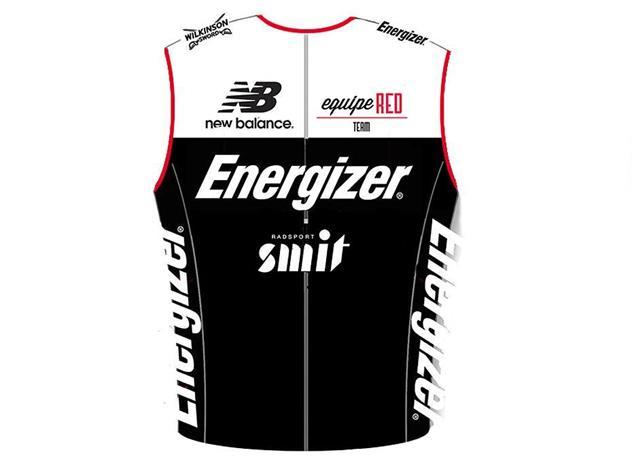 equipeRED Energizer Herren TRI Singlet - Black Edition - XL
