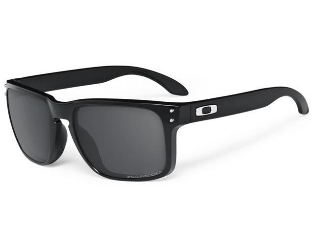 Oakley Holbrook Brille polished black/grey polarized
