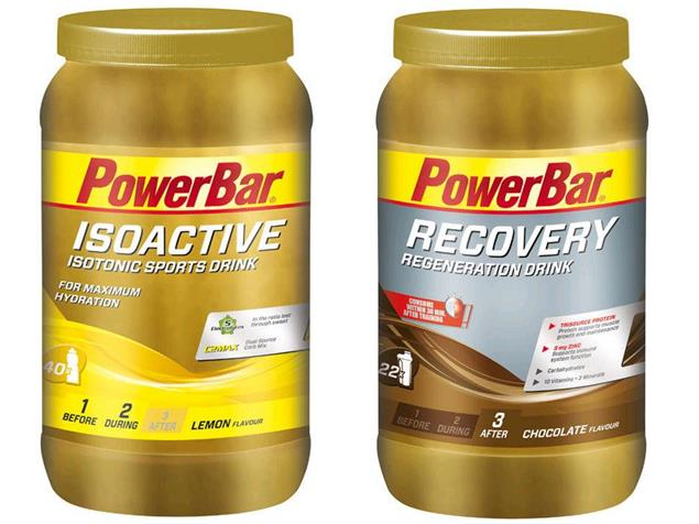 PowerBar Isoactive/Recovery Drink-Set