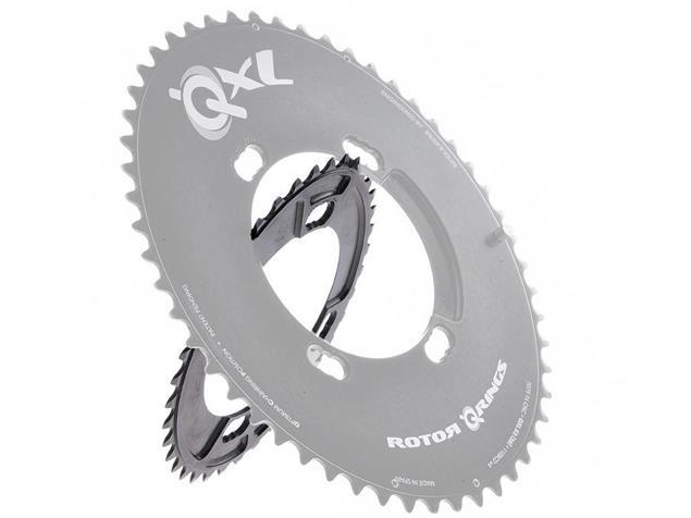 Rotor QXL-Ring Kettenblatt schwarz 110er Lochkreis 4-Arm Shimano - 36 Zähne