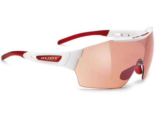Rudy Project Airblast Brille white gloss/impactX photochromic multilaser red