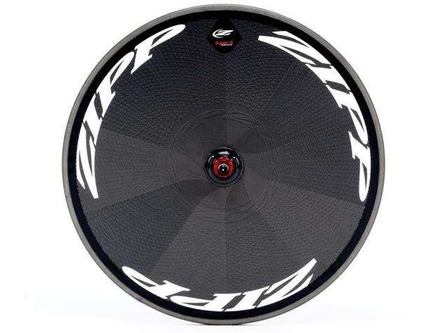Zipp Disc Super 9 Carbon Clincher Scheibenrad - Shimano/SRAM Drahtreifen weiss