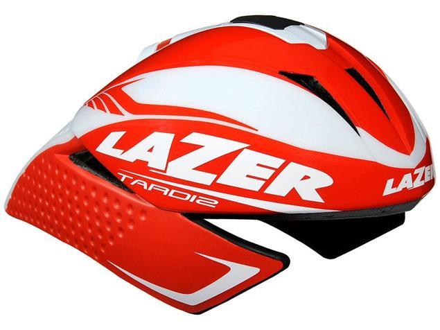 Lazer Tardiz 2014 Helm - M red/white
