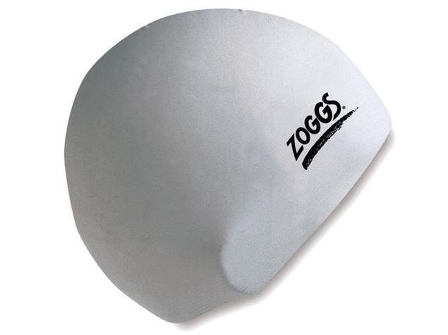 Zoggs Silicone Cap Badekappe - white