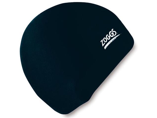 Zoggs Silicone Cap Badekappe - black
